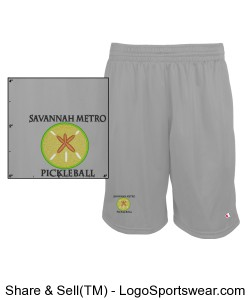 Savannah Metro Pickleball Shorts Design Zoom
